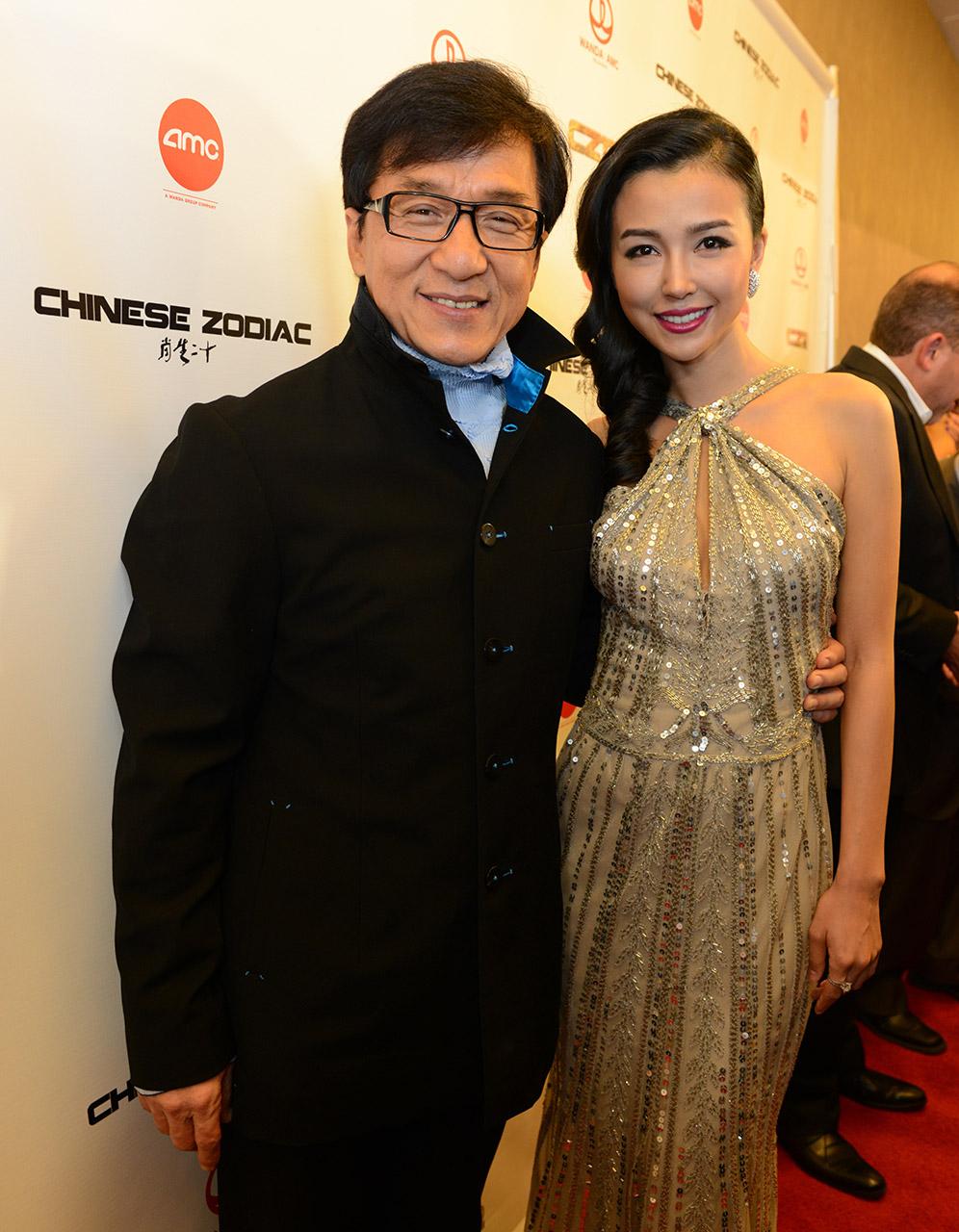 Jackie Chan & Yao Xingtong